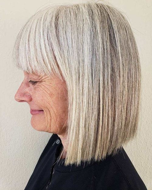 Blunt Bob With Bangs 2020