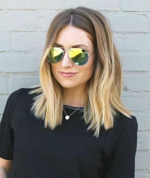 Blunt Lob Haircut