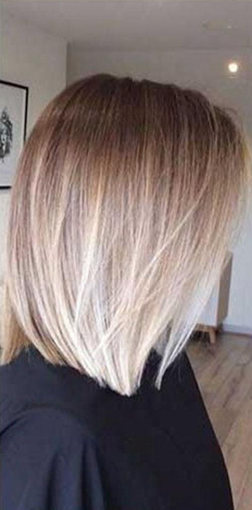 Ombre Short Hair Color