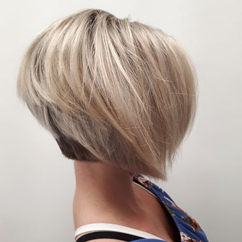 Pictures Of Layered Bob Hairstyles