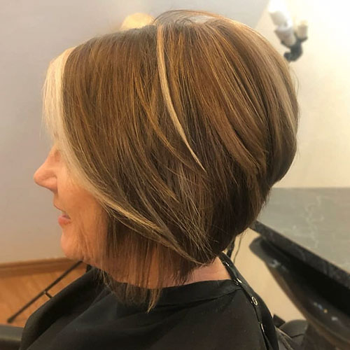 Stacked Bob Haircut Pictures