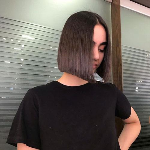 Blunt Cut Bob Hairstyle