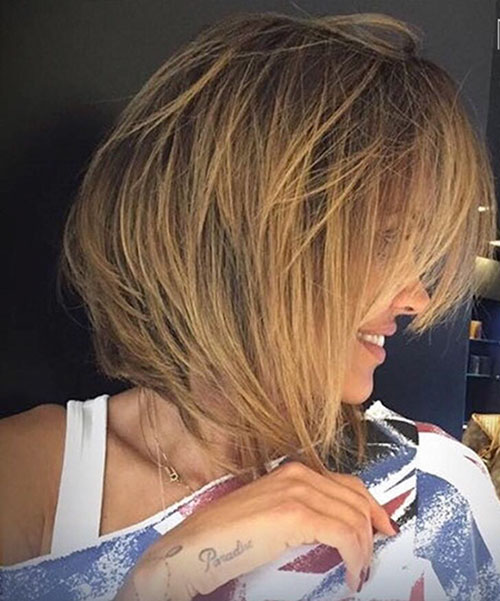 Messy Bob Cut Hairstyles