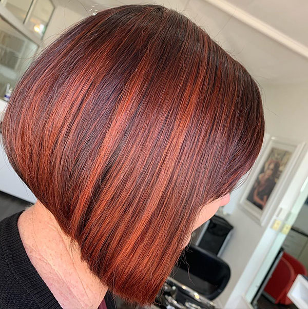 A Line Bob Cut Hairstyles