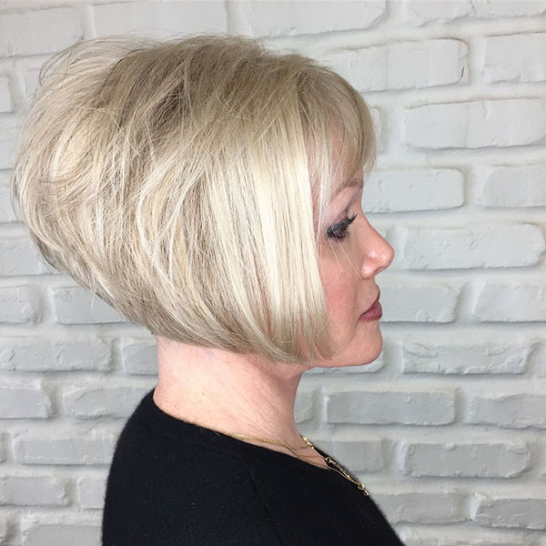 Blonde Bob Cut Styles