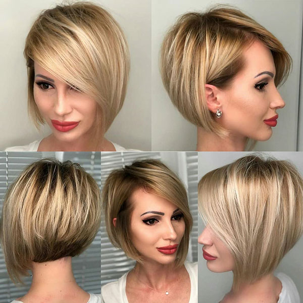A Line Bob Haircut Images