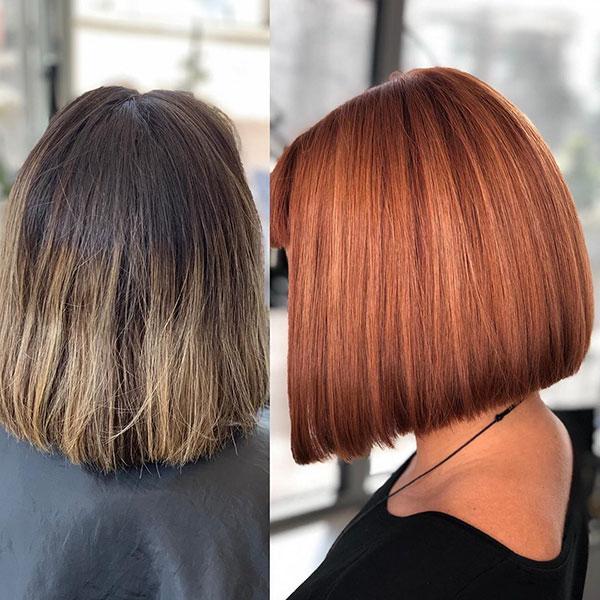 A Line Bob Hair Ideas