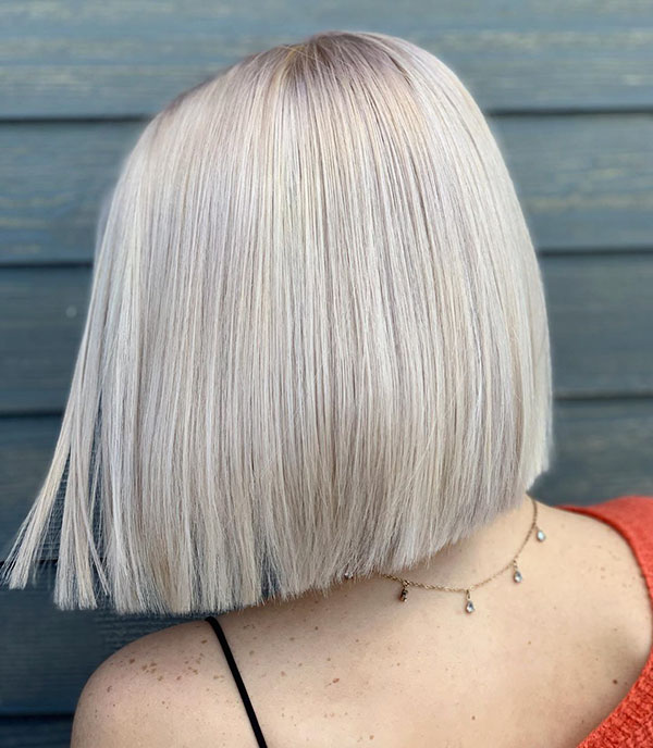 Blunt Bob Cuts For Short Hair