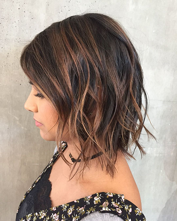 Short Textured Bob Style Ideas