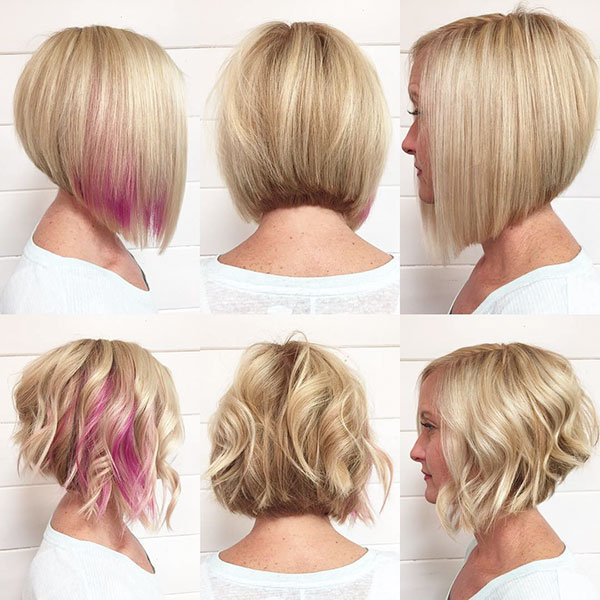 Short Textured Bob Haircuts