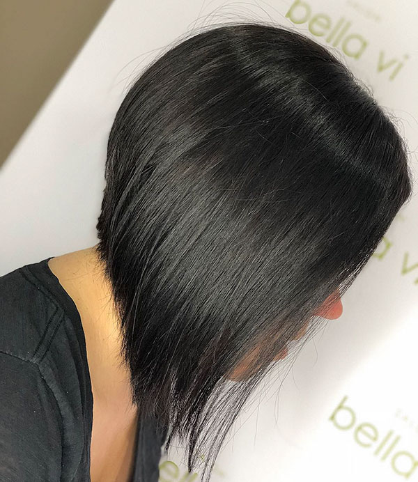 Pictures Of A Line Bob Haircuts