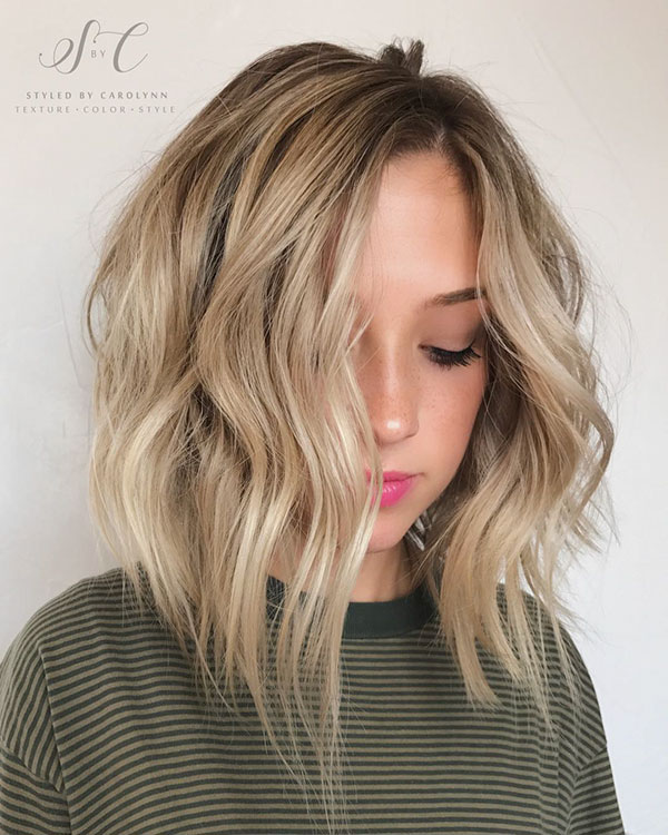 Hairstyles For Medium Inverted Bob