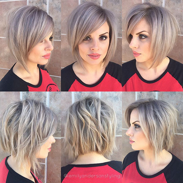 Textured Bob Haircuts For Short Hair