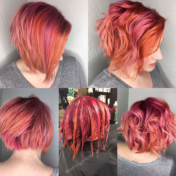 Short Textured Bob Cut Pictures